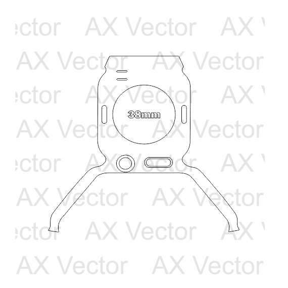Apple Watch Contour Template