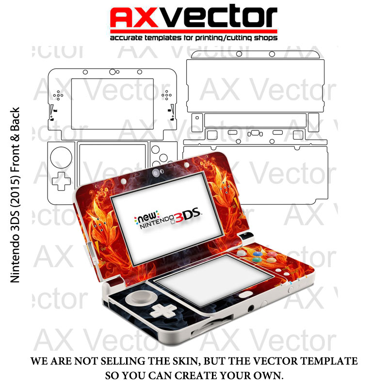 Nintendo 3DS 2015 Template