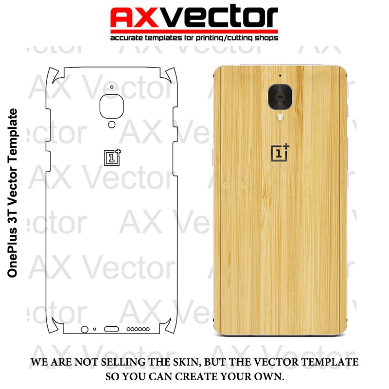 OnepLus 3T Vector Template