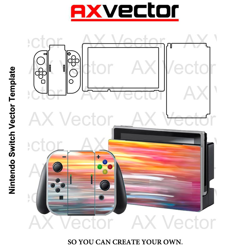 Nintendo Switch Vector Template