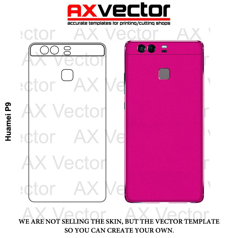 Huawei P9 Vector Template