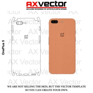 OnePlus 5 Vector Template