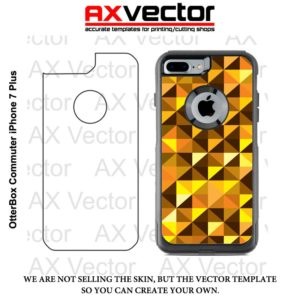 OtterBox Commuter iPhone 7 Plus Vector Template