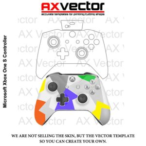 Xbox One S Controller Template