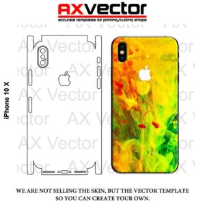 iPhone 10 X Vector Template